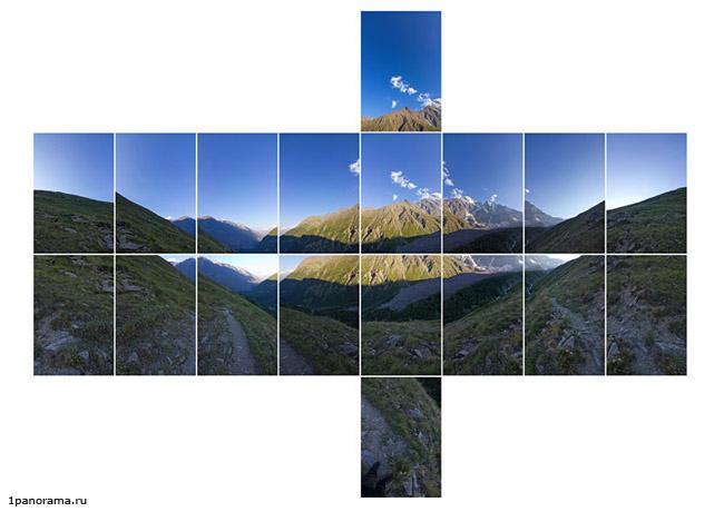 Как сделать снимок панорамой
