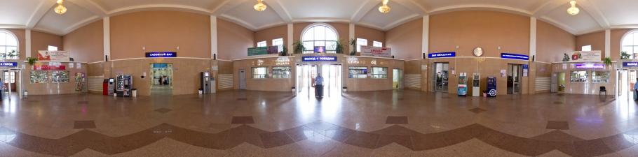 Вокзал станции комсомольск-на-амуре
