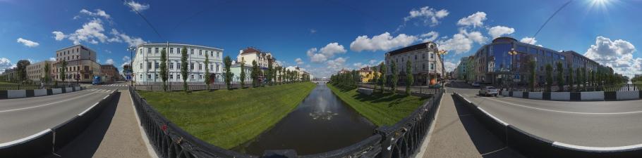 Лебедевский мост. Казань #0120. | 225x910